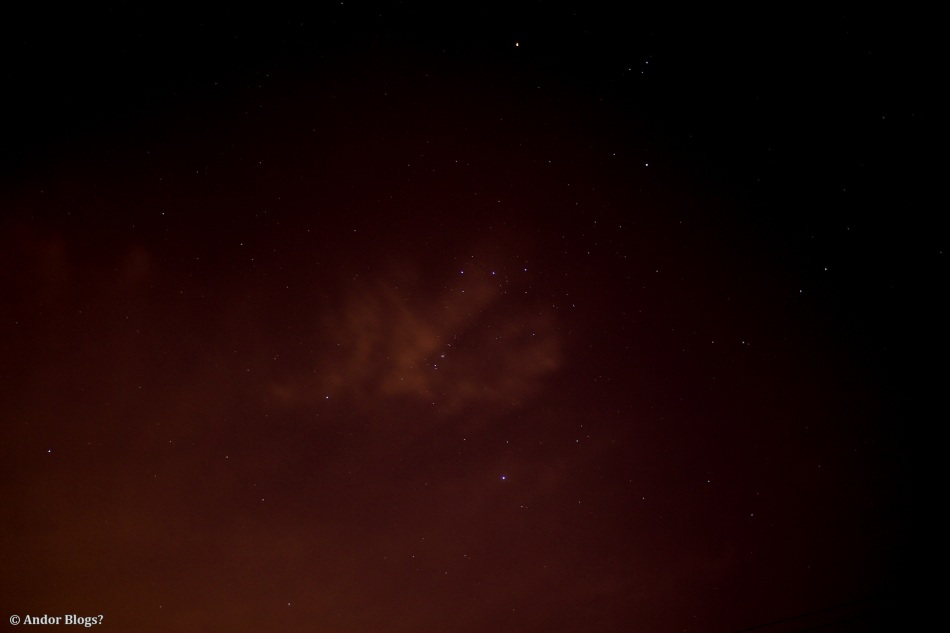 Orion, Riding the Clouds