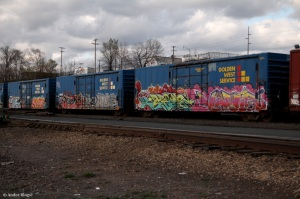 Trains in the City(6)
