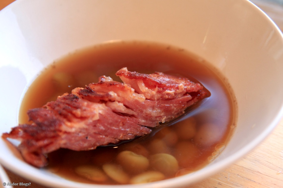Bacon & Baby Lima Beans in Spiced Porky Soup (1)