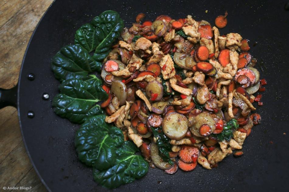 Garden Fresh Stir Fry © Andor