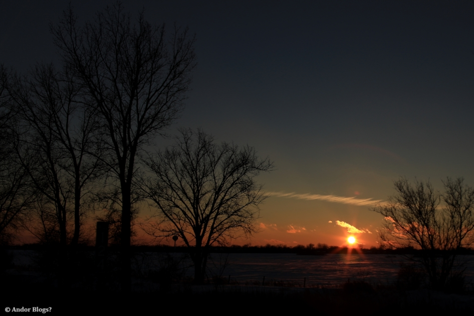 Highway Sunset © Andor