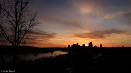 Sunset over Saint Paul, MN © Andor (1)
