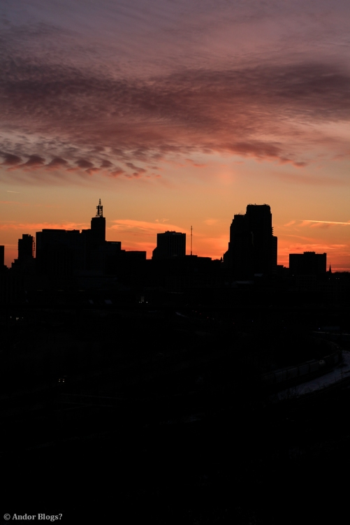 Sunset over Saint Paul, MN © Andor (10)