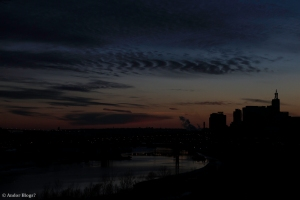 Sunset over Saint Paul, MN © Andor(12)