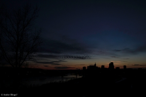 Sunset over Saint Paul, MN © Andor(13)