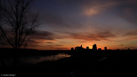 Sunset over Saint Paul, MN © Andor (2)