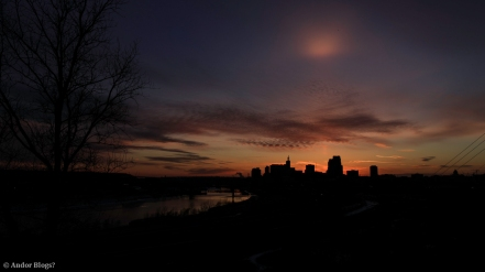 Sunset over Saint Paul, MN © Andor (3)