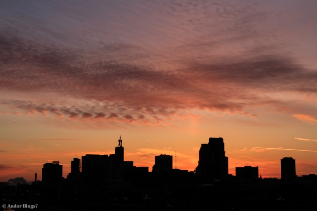 Sunset over Saint Paul, MN © Andor (6)