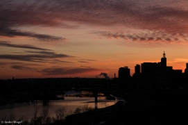 Sunset over Saint Paul, MN © Andor (7)