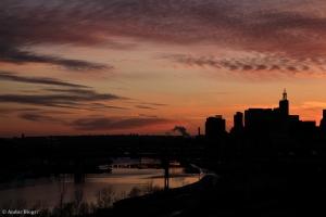 Sunset over Saint Paul, MN © Andor(7)