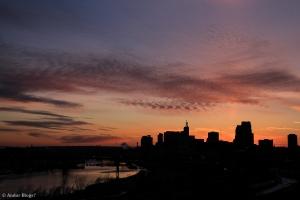 Sunset over Saint Paul, MN © Andor(8)