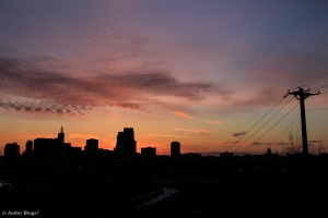 Sunset over Saint Paul, MN © Andor(9)